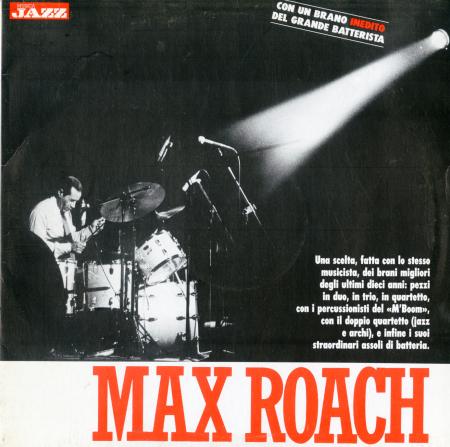 """Max Roach / Maxwell """"Max"""" Roach"""