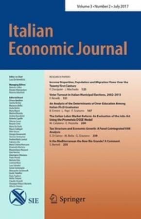 Italian economic journal