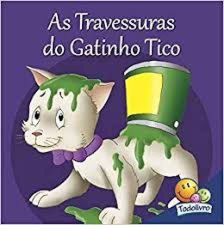 As travessuras do gatinho Tico