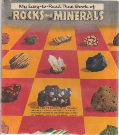 My easy to read true book of rocks and minerals